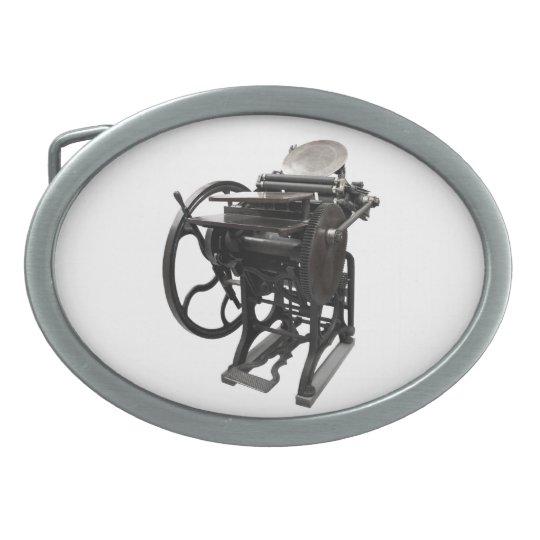letterpress 1888 belt buckle