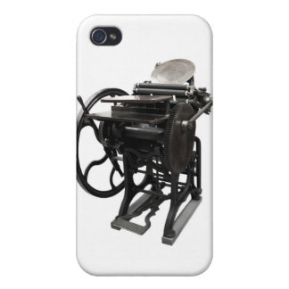 letterpress 1888  case for iPhone 4