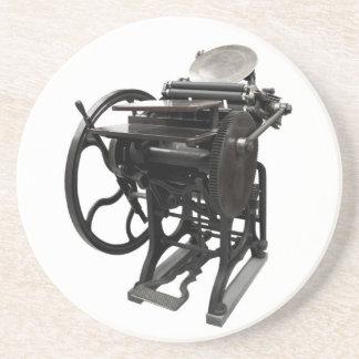 letterpress 1888 coaster