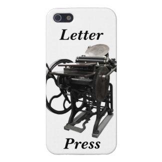 letterpress 1888 iPhone Savvy case
