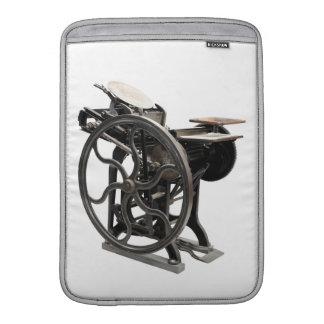 letterpress 1888 MacBook Air sleeve
