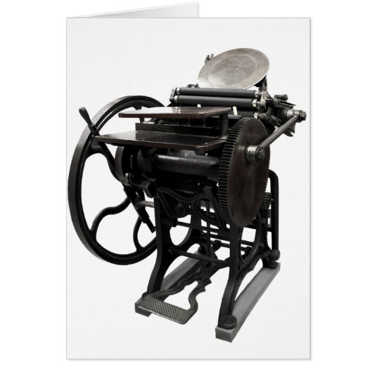 letterpress 1888 notecard