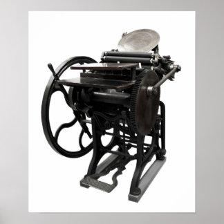 letterpress 1888 poster