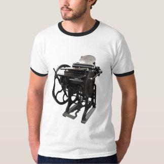 letterpress 1888 ringer mens t-shirt