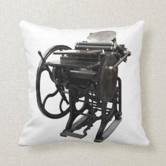 letterpress 1888 throw pillow