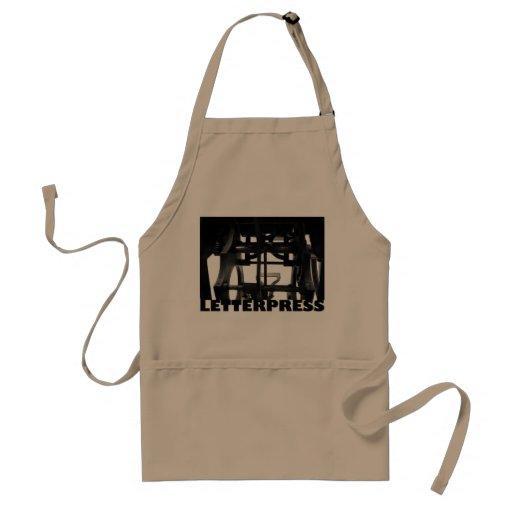 letterpress apron