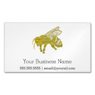 Honey bee business cards templates zazzle for Bee business cards