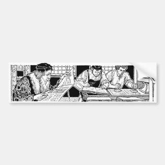 Letterpress Bumper Sticker