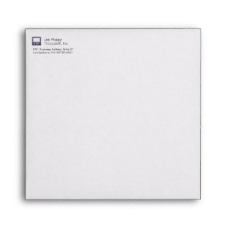 Letterpress Floppy Disk Envelope