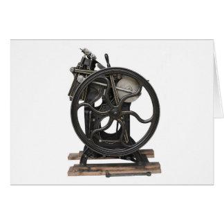 letterpress from 1901 card