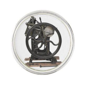 Letterpress from 1901 pin