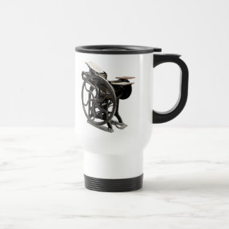 letterpress machine commuter coffee cup
