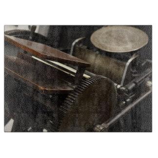 Letterpress machine cutting board