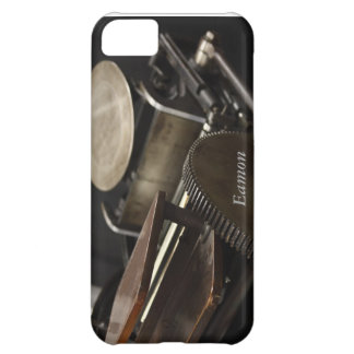 letterpress machine iPhone 5 barely there case