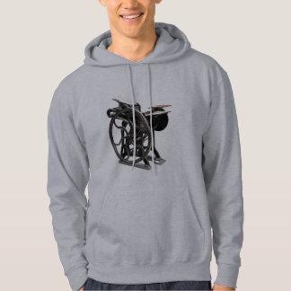 letterpress machine mens hoodie