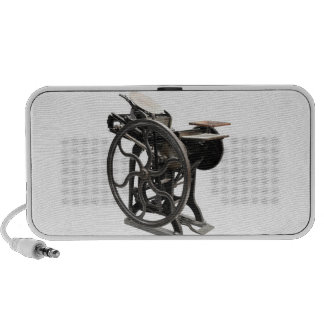 letterpress machine speaker