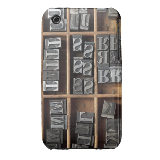 letterpress metal type Casemate case