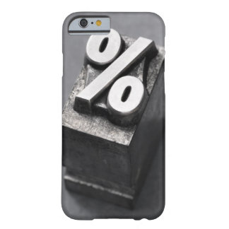 % Letterpress type Barely There iPhone 6 Case