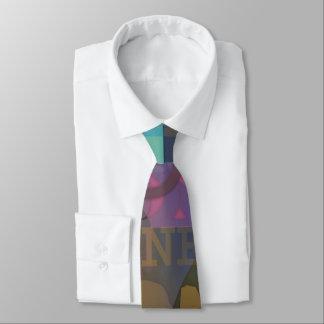 Letters 01 neck tie