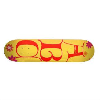 Letters ABC Skateboard