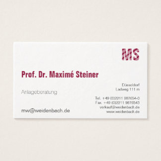 One color business cards arts arts one color business cards images card design and template reheart Image collections