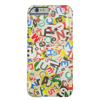 Letters Barely There iPhone 6 Case