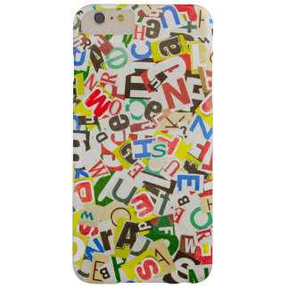Letters Barely There iPhone 6 Plus Case