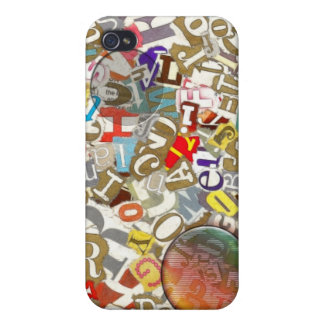 LETTERS CASES FOR iPhone 4