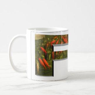 Letters - F - Fish Coffee Mug
