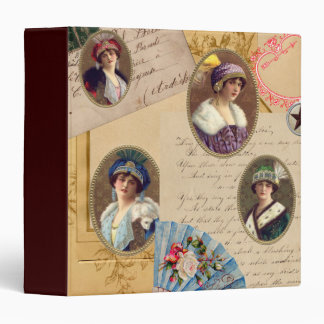 Letters Fans and Women Binder