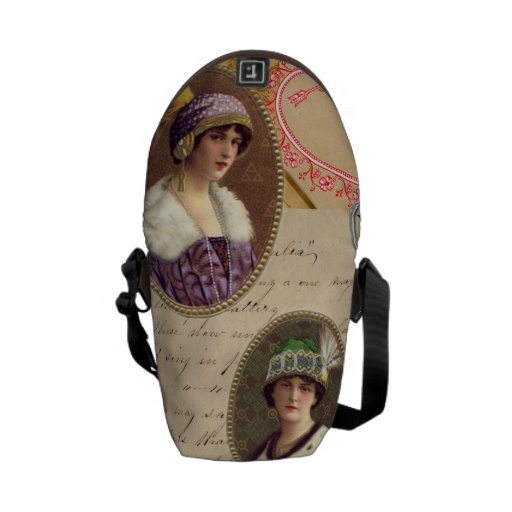 Letters Fans and Women Courier Bag