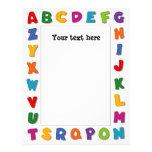 Letters Frame Letterhead
