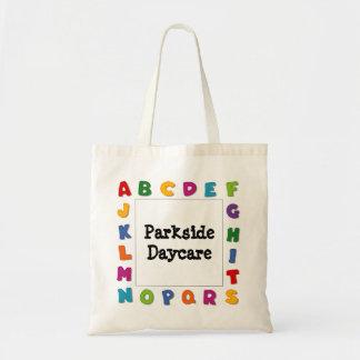 Letters Frames Tote Bag
