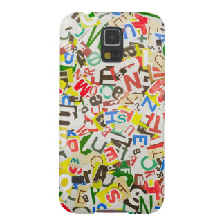 Letters Galaxy S5 Covers