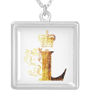 Letters L - Lion King - Necklace