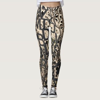 Letters Leggings