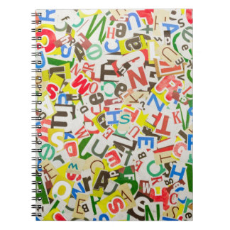 Letters Notebook