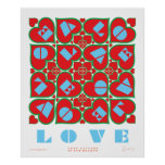 Letters of Love Print