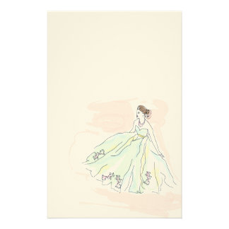 """Letters of love with """"The lady """" Stationery"""