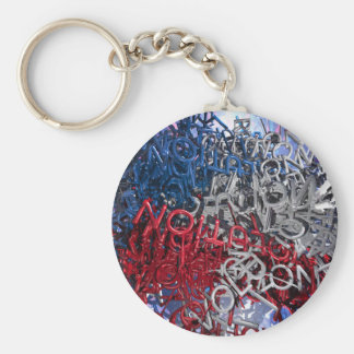 Letters of Revolution Keychain