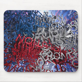 Letters of Revolution Mouse Pad