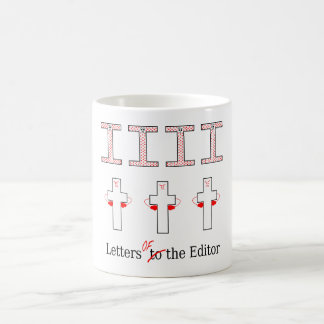 Letters Of The Editor Coffee Mug