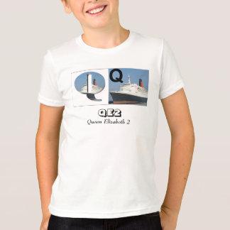 Letters - Q - QE2 (Queen Elizabeth 2) T-Shirt