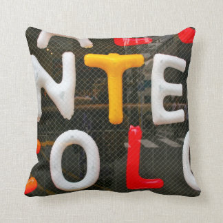 Throw Pillows With Letters On Them : Greek Letter Pillows - Decorative & Throw Pillows Zazzle