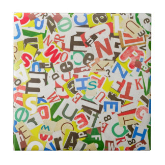 Letters Tile
