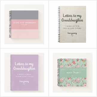 Letters to My Granddaughter Keepsake Journals