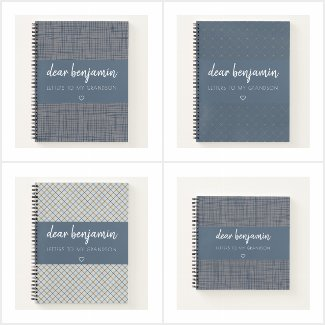 Letters to My Grandson Keepsake Journals