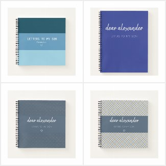 Letters to My Son Keepsake Journals