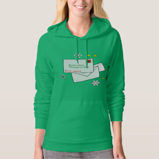 Letters to Santa at North Pole Hoodie