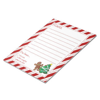 Letters To Santa Memo Note Pad